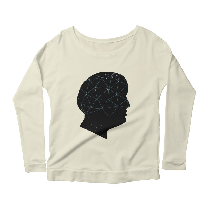 INSIDE & OUT Women's Longsleeve Scoopneck  by STUDIO FORONDA DESIGN SHOP