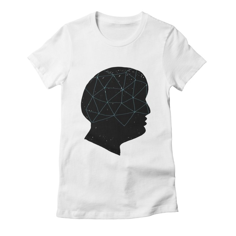 INSIDE & OUT Women's Fitted T-Shirt by STUDIO FORONDA DESIGN SHOP