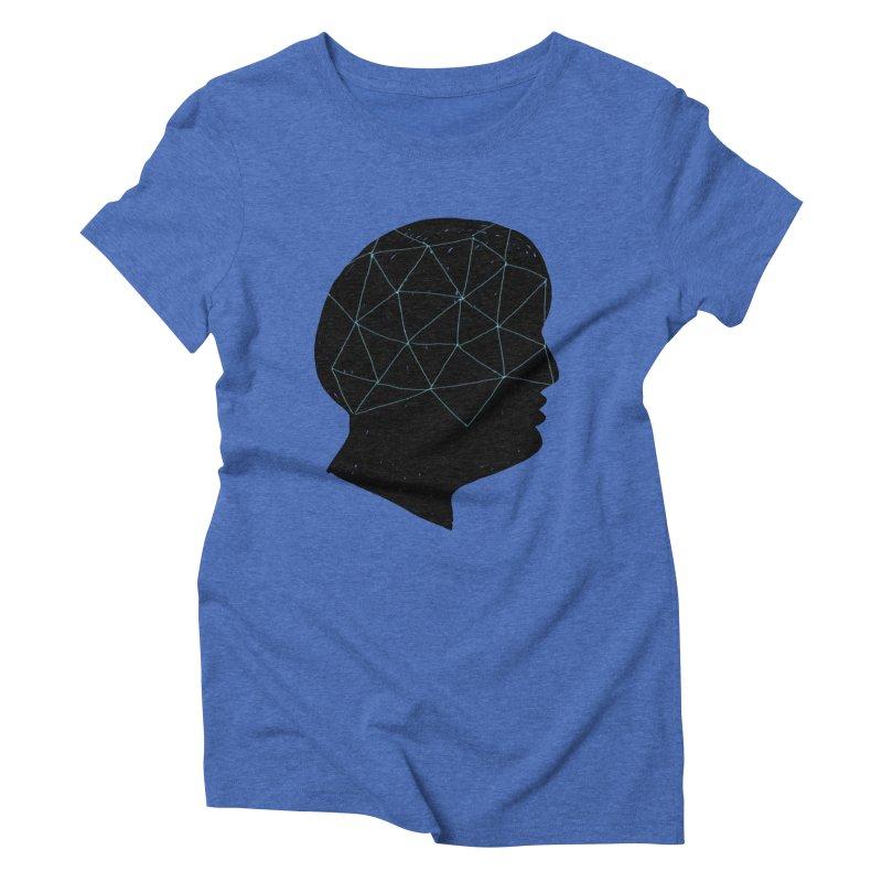 INSIDE & OUT Women's Triblend T-Shirt by STUDIO FORONDA DESIGN SHOP