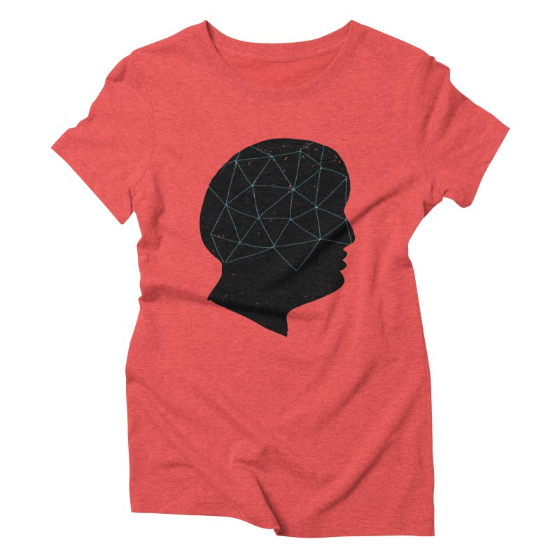 INSIDE & OUT Women's Triblend T-Shirt by STUDIO FORONDA DESIGN SHOP