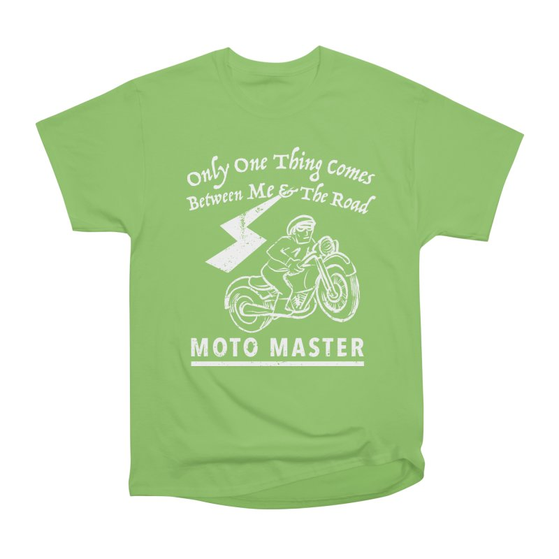 MOTO MASTER Men's Heavyweight T-Shirt by STUDIO FORONDA DESIGN SHOP