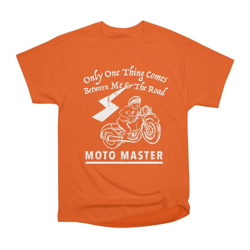 MOTO MASTER Women's Heavyweight Unisex T-Shirt by STUDIO FORONDA DESIGN SHOP