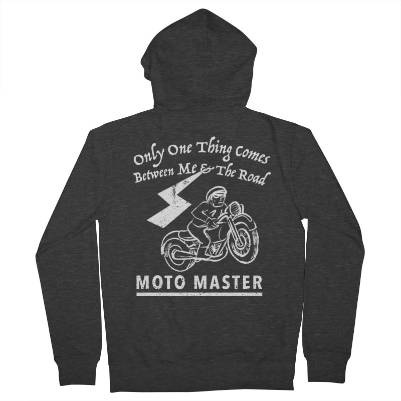 MOTO MASTER Women's Zip-Up Hoody by STUDIO FORONDA DESIGN SHOP