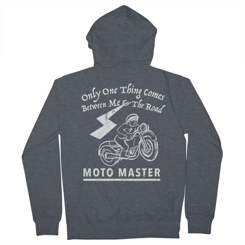 MOTO MASTER Women's Zip-Up Hoody by STUDIO FORONDA DESIGN SHOP