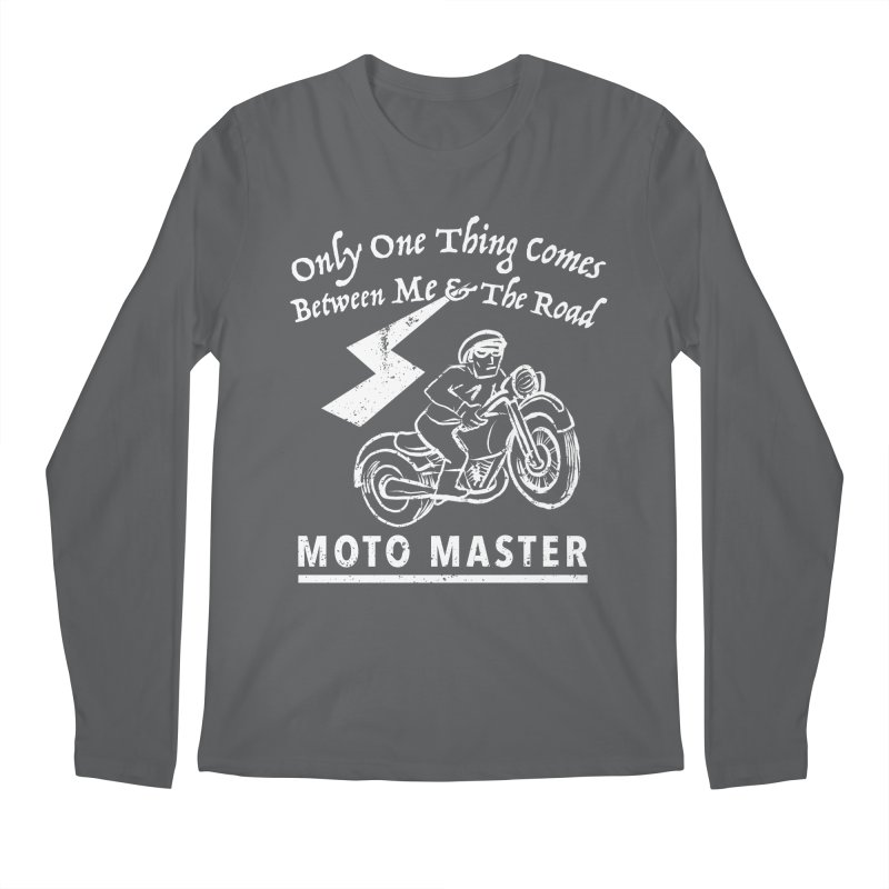MOTO MASTER Men's Regular Longsleeve T-Shirt by STUDIO FORONDA DESIGN SHOP