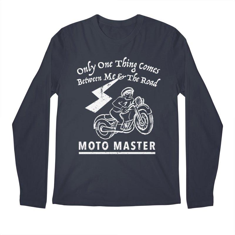MOTO MASTER Men's Longsleeve T-Shirt by STUDIO FORONDA DESIGN SHOP