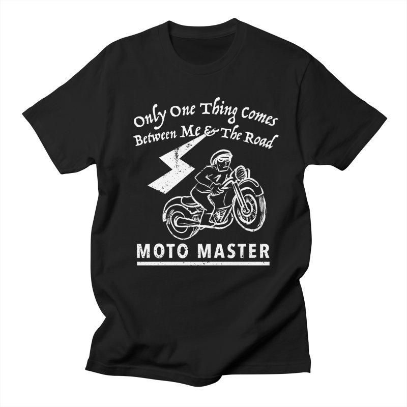MOTO MASTER Men's T-Shirt by STUDIO FORONDA DESIGN SHOP