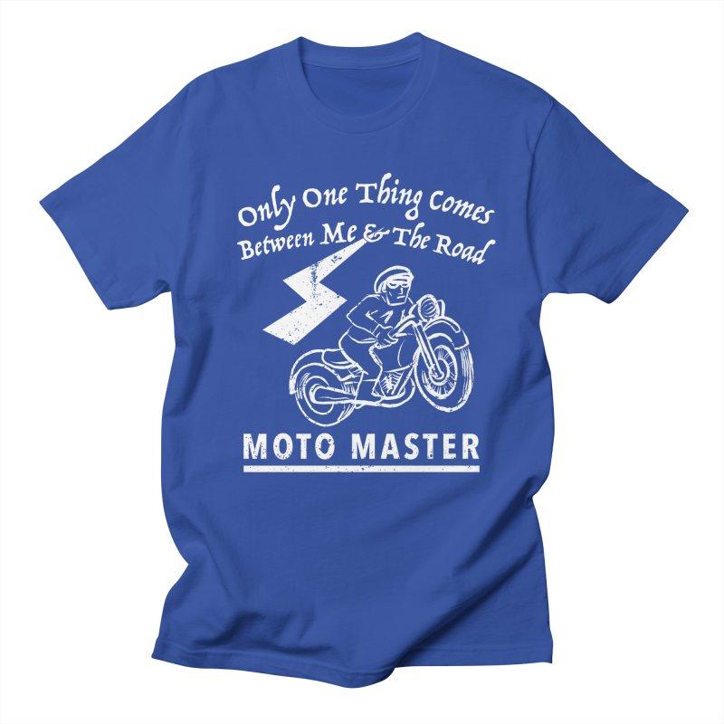 MOTO MASTER Women's Unisex T-Shirt by STUDIO FORONDA DESIGN SHOP