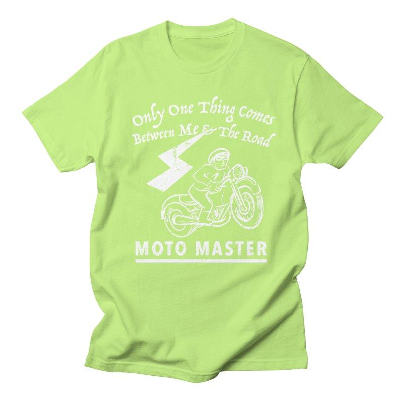MOTO MASTER Women's Regular Unisex T-Shirt by STUDIO FORONDA DESIGN SHOP