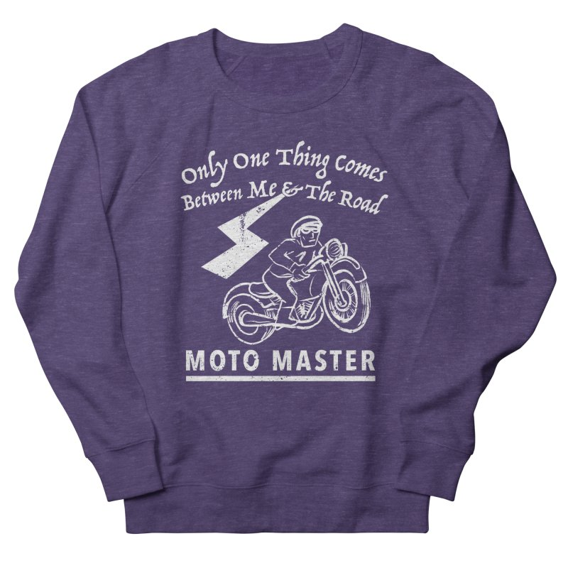 MOTO MASTER Men's Sweatshirt by STUDIO FORONDA DESIGN SHOP
