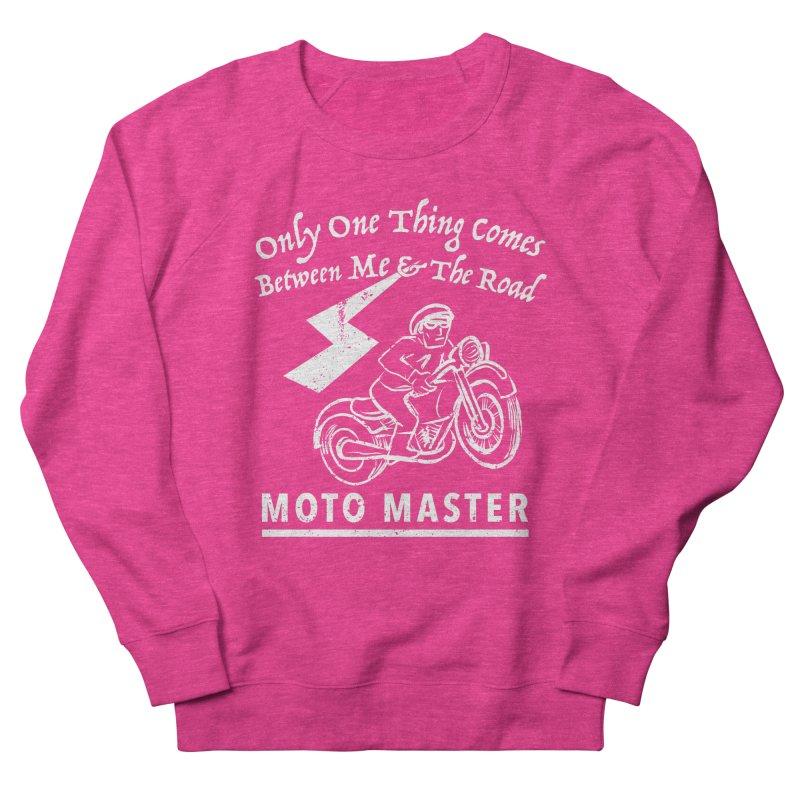MOTO MASTER Men's French Terry Sweatshirt by STUDIO FORONDA DESIGN SHOP