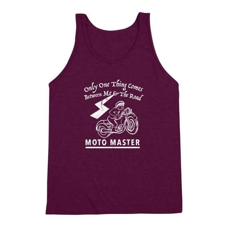 MOTO MASTER Men's Triblend Tank by STUDIO FORONDA DESIGN SHOP