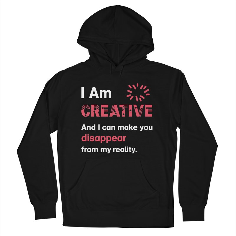 Creative Power Women's Pullover Hoody by STUDIO FORONDA DESIGN SHOP