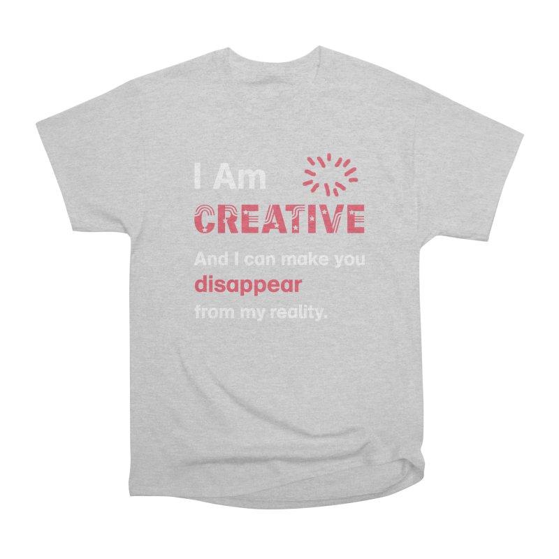Creative Power Men's Heavyweight T-Shirt by STUDIO FORONDA DESIGN SHOP