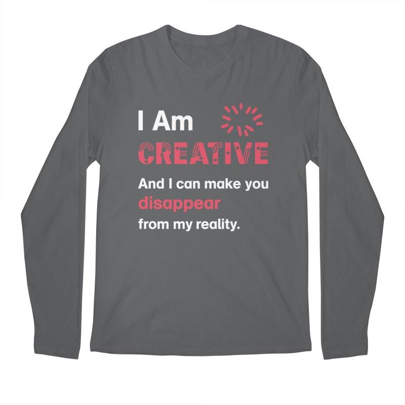 Creative Power Men's Longsleeve T-Shirt by STUDIO FORONDA DESIGN SHOP