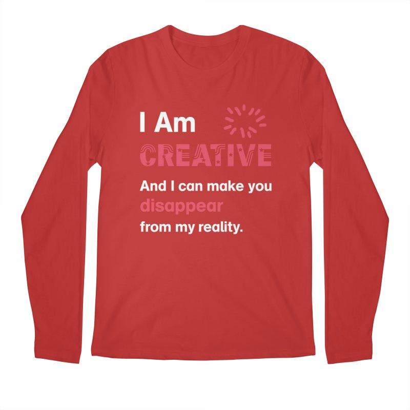 Creative Power Men's Regular Longsleeve T-Shirt by STUDIO FORONDA DESIGN SHOP