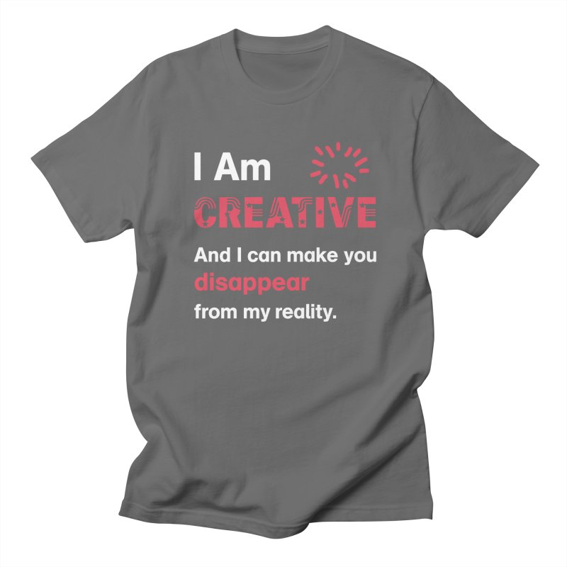 Creative Power Men's T-Shirt by STUDIO FORONDA DESIGN SHOP