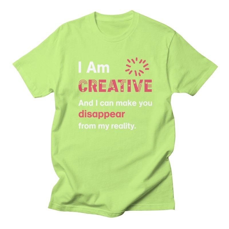 Creative Power Women's Regular Unisex T-Shirt by STUDIO FORONDA DESIGN SHOP