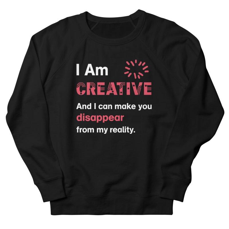 Creative Power Men's French Terry Sweatshirt by STUDIO FORONDA DESIGN SHOP