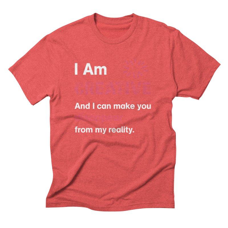 Creative Power Men's Triblend T-Shirt by STUDIO FORONDA DESIGN SHOP
