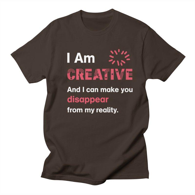 Creative Power Men's Regular T-Shirt by STUDIO FORONDA DESIGN SHOP
