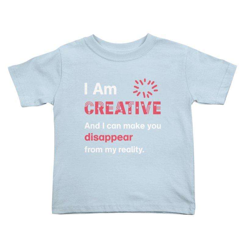 Creative Power Kids Toddler T-Shirt by STUDIO FORONDA DESIGN SHOP