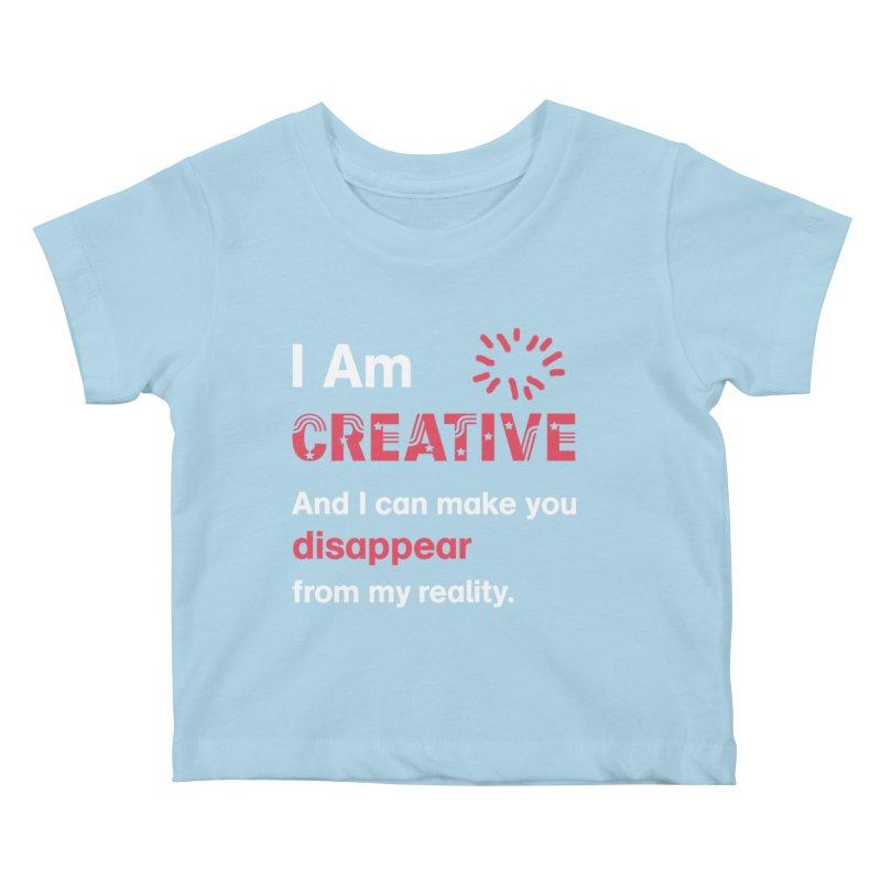 Creative Power Kids Baby T-Shirt by STUDIO FORONDA DESIGN SHOP