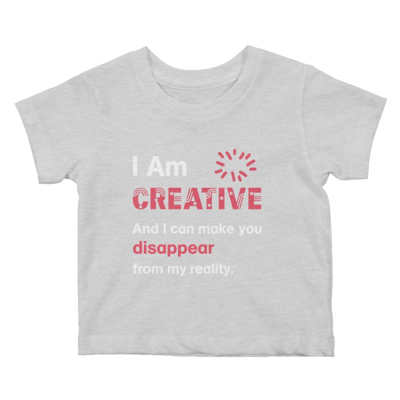 Creative Power Kids Baby T-Shirt by STUDIO FORONDA DESIGN SHOP