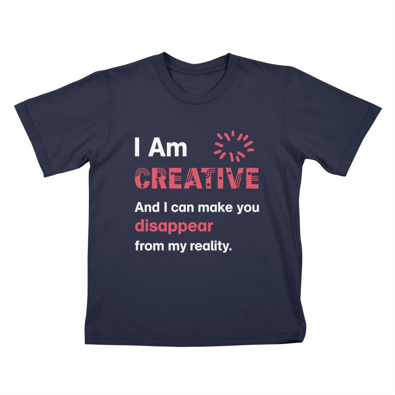 Creative Power Kids T-Shirt by STUDIO FORONDA DESIGN SHOP