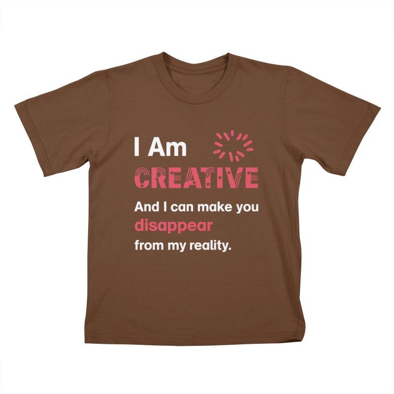 Creative Power Kids T-Shirt by STUDIO FORONDA DESIGN SHOP