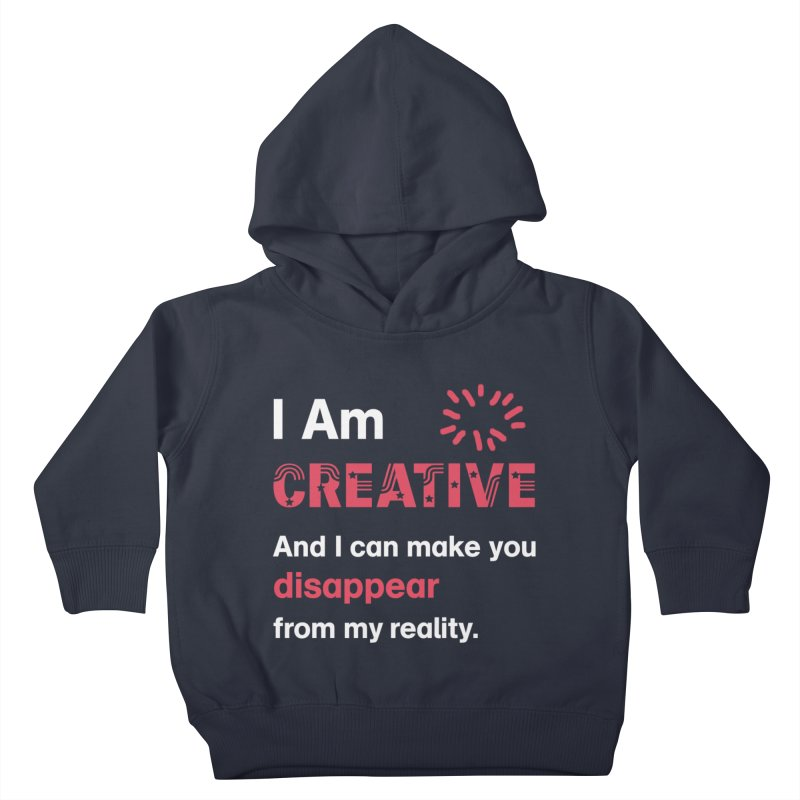 Creative Power Kids Toddler Pullover Hoody by STUDIO FORONDA DESIGN SHOP