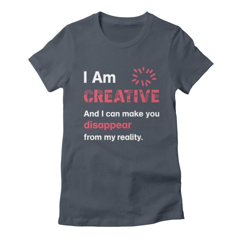 Creative Power Women's T-Shirt by STUDIO FORONDA DESIGN SHOP