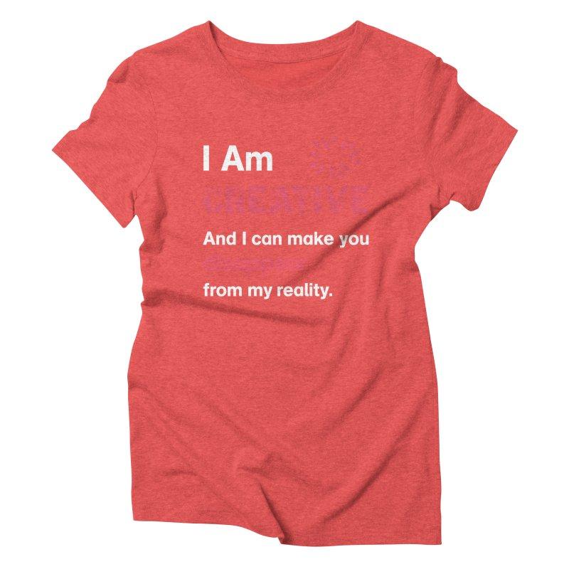 Creative Power Women's Triblend T-Shirt by STUDIO FORONDA DESIGN SHOP