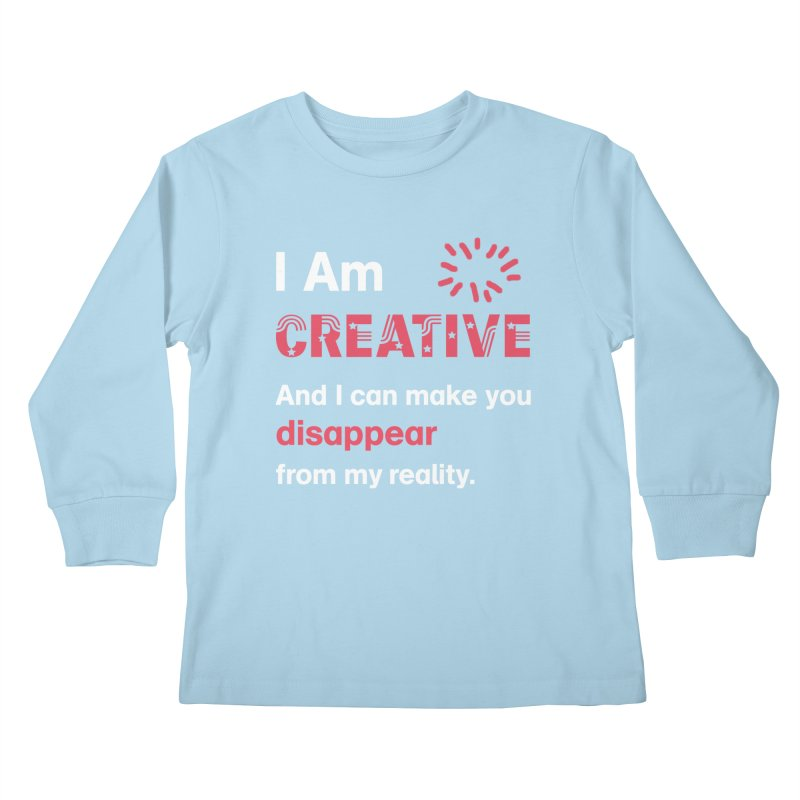 Creative Power Kids Longsleeve T-Shirt by STUDIO FORONDA DESIGN SHOP