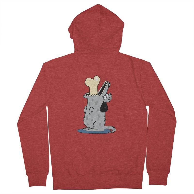 Dog Men's Zip-Up Hoody by studiogoudbaard's Artist Shop