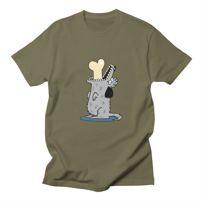 Dog Men's T-Shirt by studiogoudbaard's Artist Shop