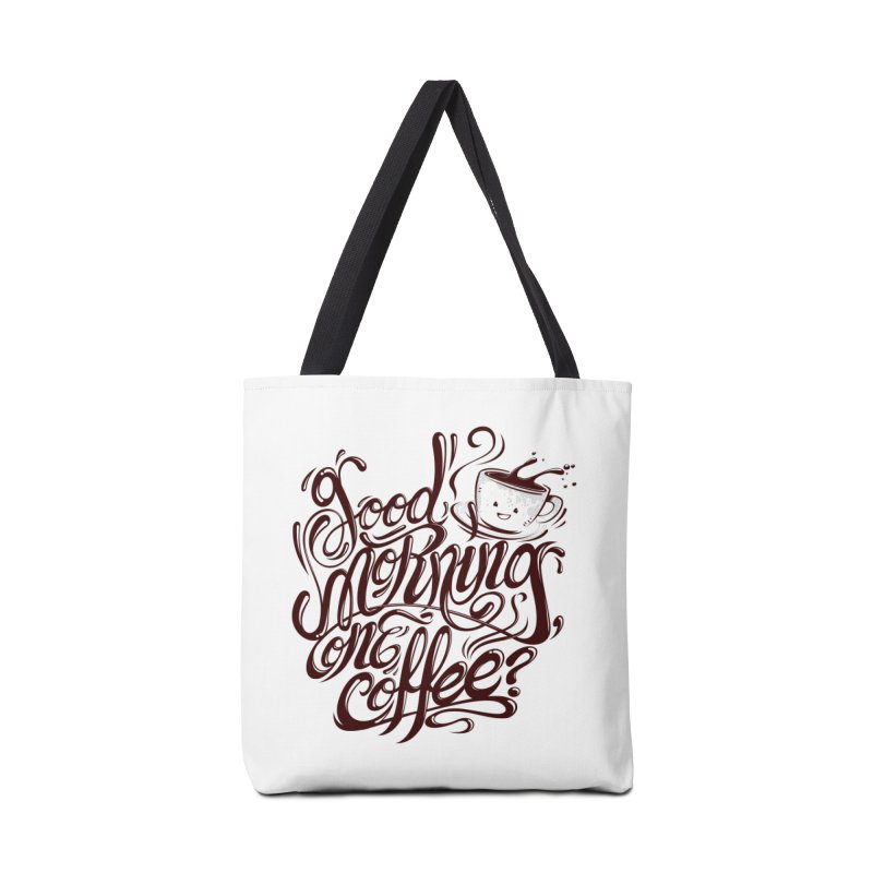 Good Morning Coffee Accessories Bag by studiom6's Artist Shop