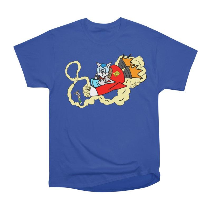 Rocket Who Women's Classic Unisex T-Shirt by studiomogura's Artist Shop