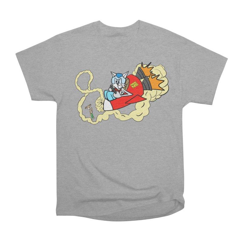 Rocket Who Men's Heavyweight T-Shirt by studiomogura's Artist Shop