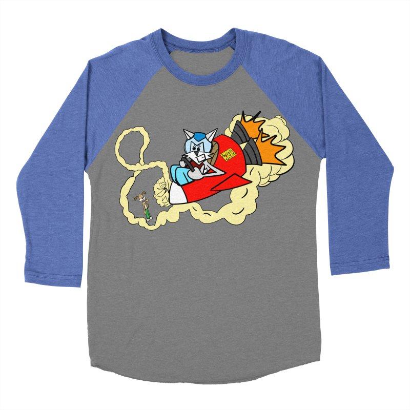 Rocket Who Women's Baseball Triblend T-Shirt by studiomogura's Artist Shop
