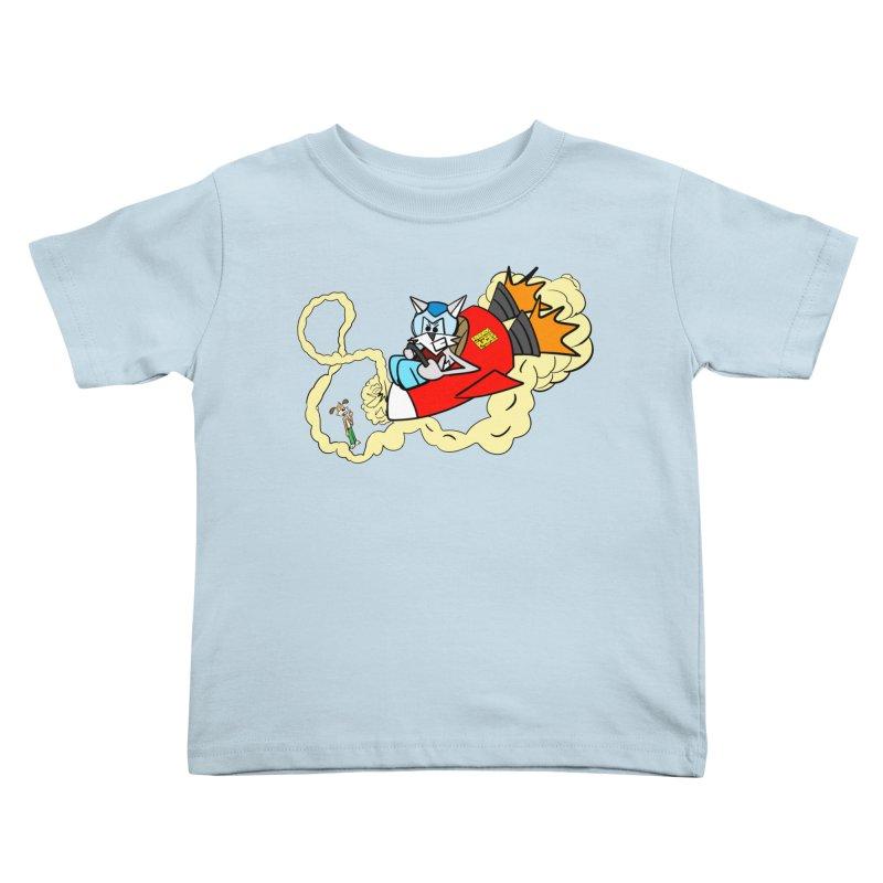 Rocket Who Kids Toddler T-Shirt by studiomogura's Artist Shop