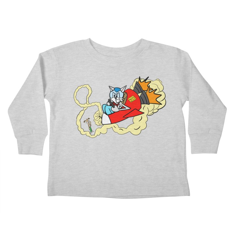 Rocket Who Kids Toddler Longsleeve T-Shirt by studiomogura's Artist Shop