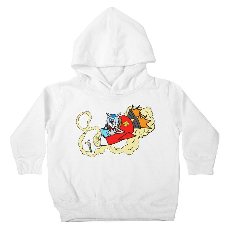 Rocket Who Kids Toddler Pullover Hoody by studiomogura's Artist Shop