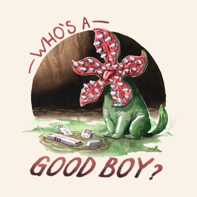 Who's a good boy? - Stranger Things Men's Cut & Sew by Studio Mootant's Artist Shop