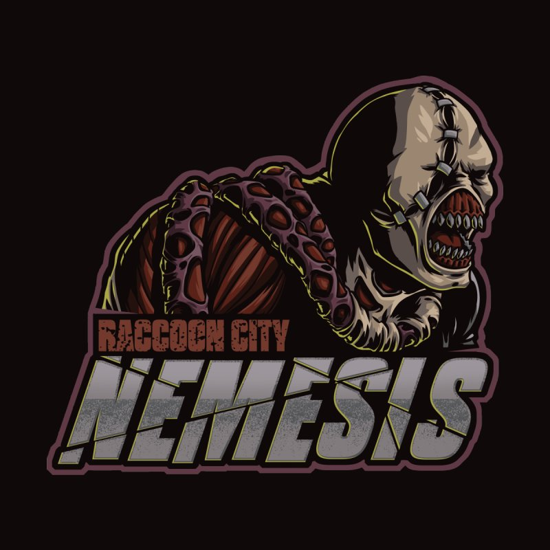 Raccoon City Nemesis Accessories Neck Gaiter by Studio Mootant's Artist Shop