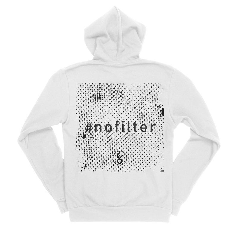 #nofilter Women's Sponge Fleece Zip-Up Hoody by Studio S