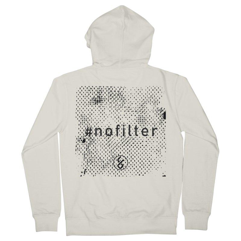 #nofilter Men's Zip-Up Hoody by Studio S