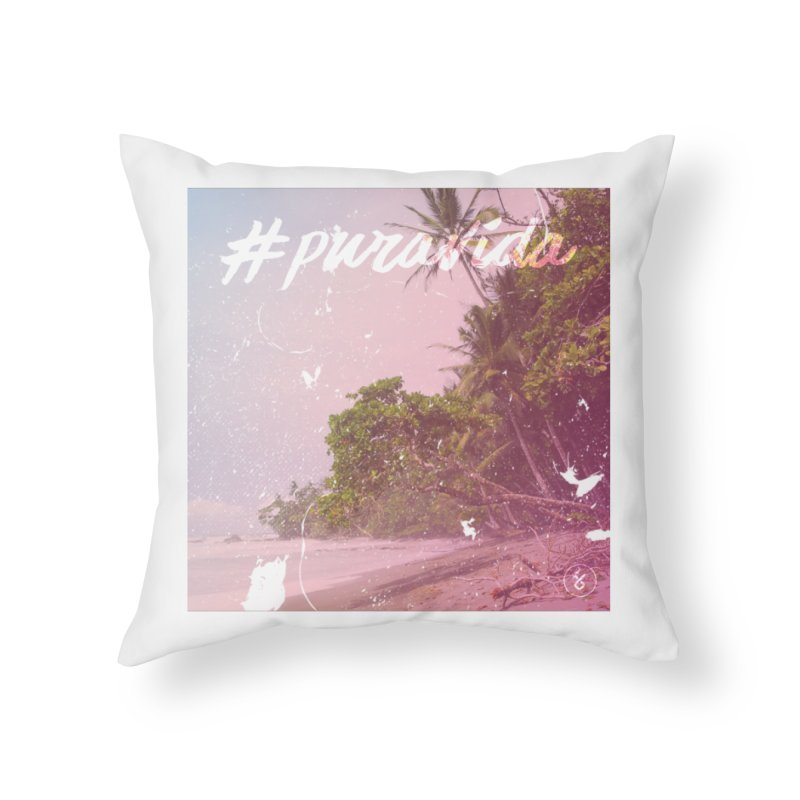 #puravida Home Throw Pillow by Studio S
