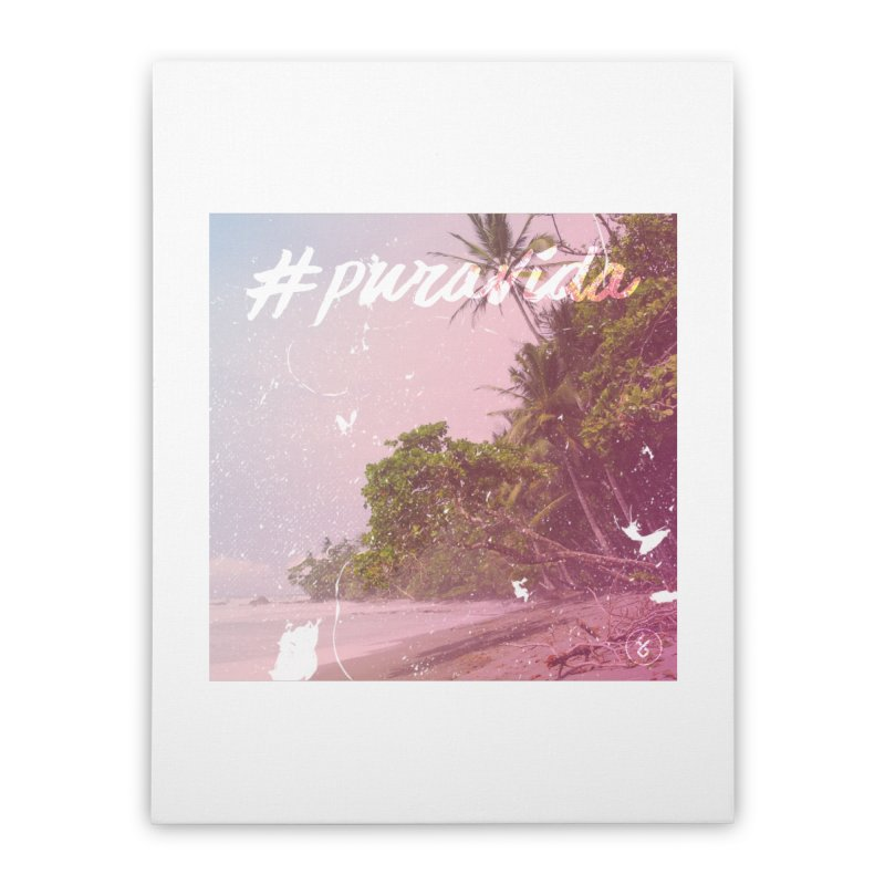 #puravida Home Stretched Canvas by Studio S