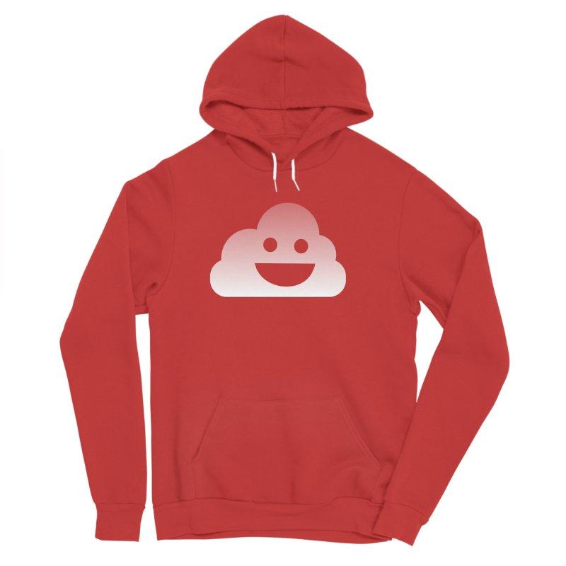 Happy Cloud Women's Sponge Fleece Pullover Hoody by Studio S